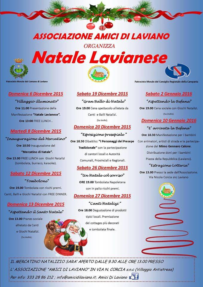 Natale Lavianese 2015